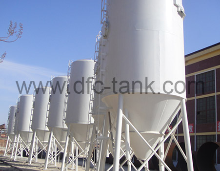 Cement mortar tank for construction industry