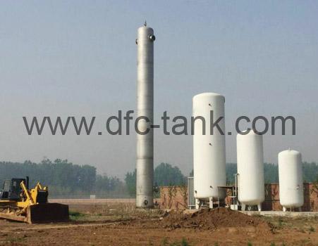 Stainless Nitrogen Storage tank
