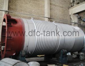 1. 100m³ SA-240M 304 Fermentation Tank