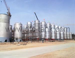 8. Fermentation tank installing site