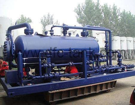 8. ASME Three Phase Separator for Pakistan