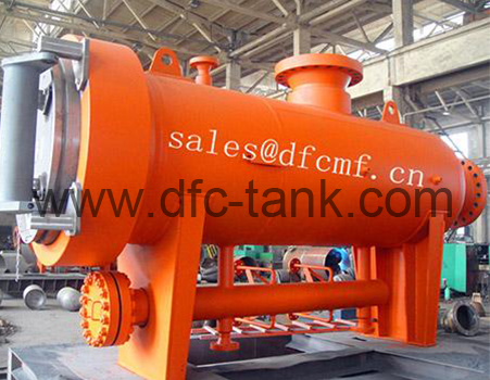 West to East Gas pipeline Filter Separator with U stamp