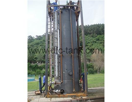 10. 100 barrels double surge tank