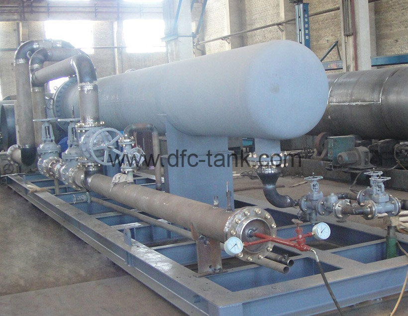 U Tube Heat Exchanger Skid for Chad