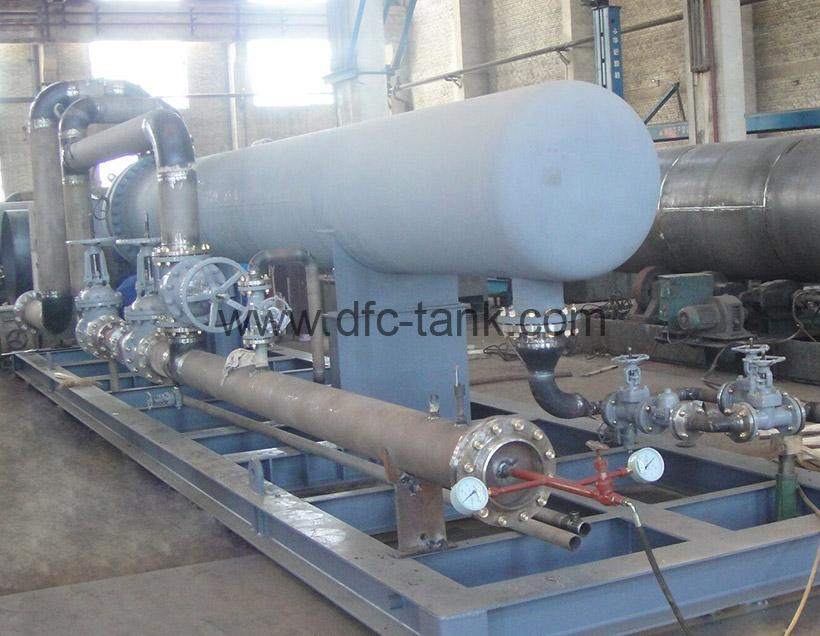 8. U Tube Heat Exchanger Skid for Chad