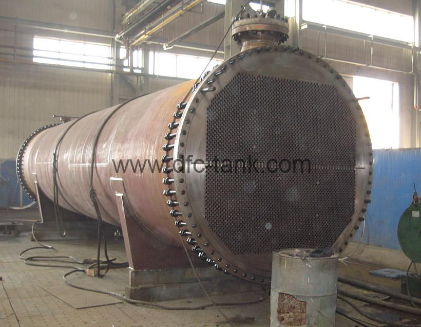 Shell and tube heat exchanger is assembly