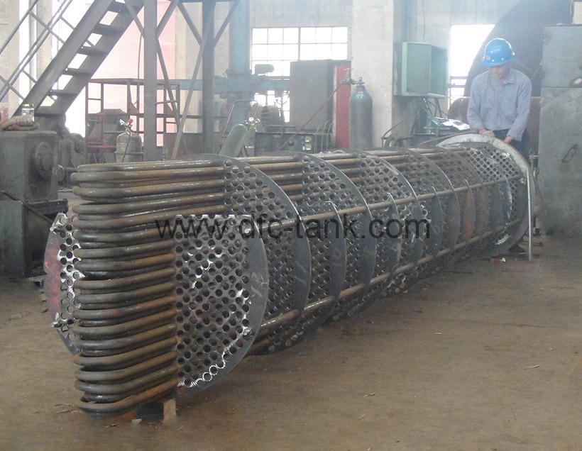 U Tube bundle is being fabricate