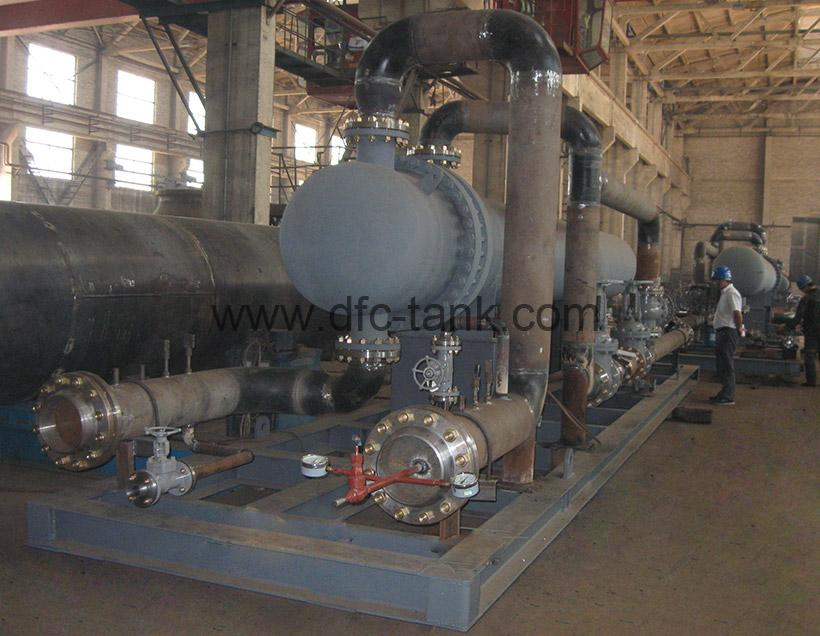 9. U Tube Heat Exchanger Skid for Chad