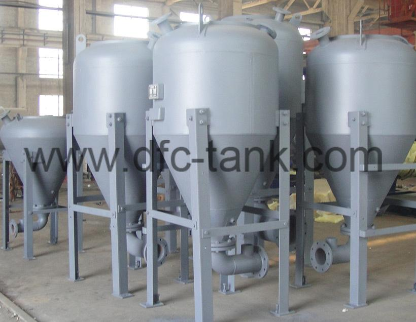 1. Conveying Tank for Steel Mill