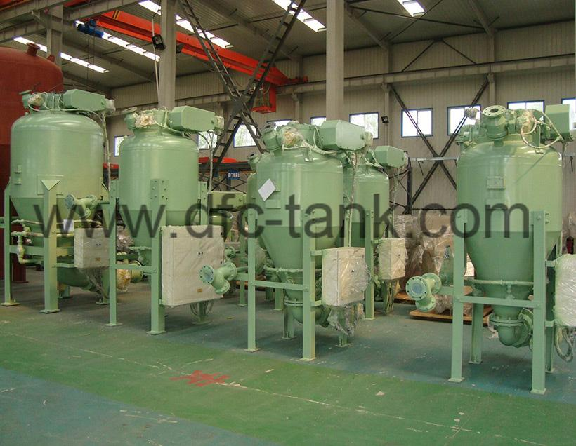 4. Conveying tank for Gypsum industry