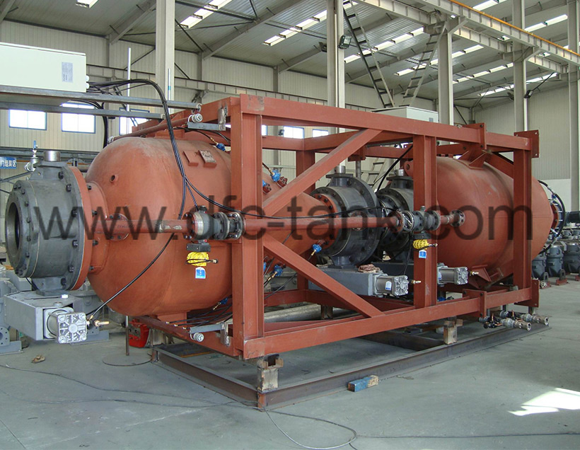 Conveying Tank for Power Plant