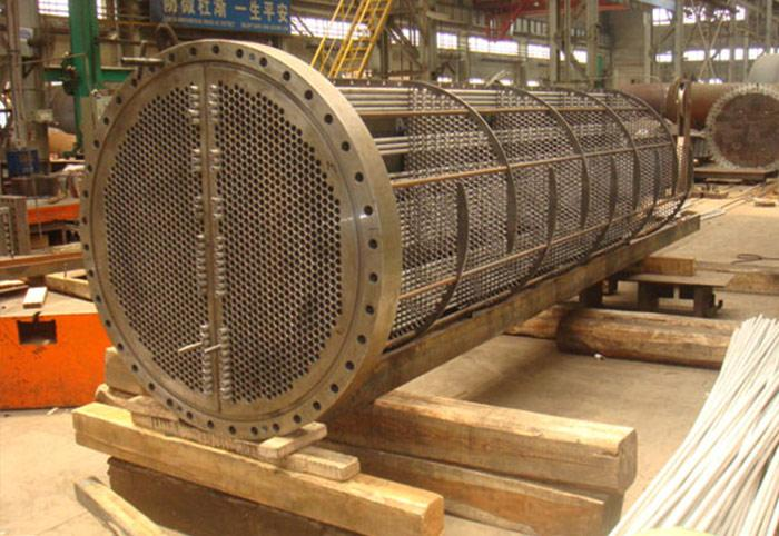 Tube Bundle of SS Heat Exchanger