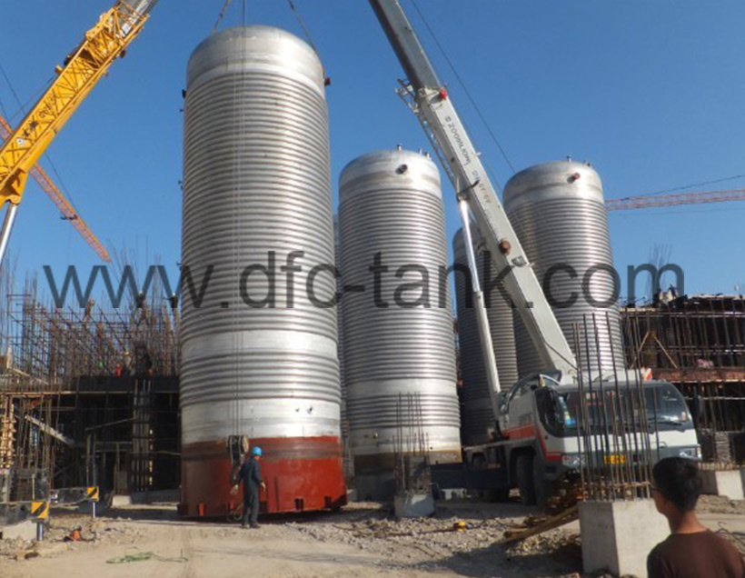 Circulation tank for streptomycin project
