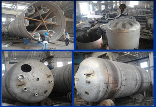 Workshop of Stainless Steel Fermentation Tank