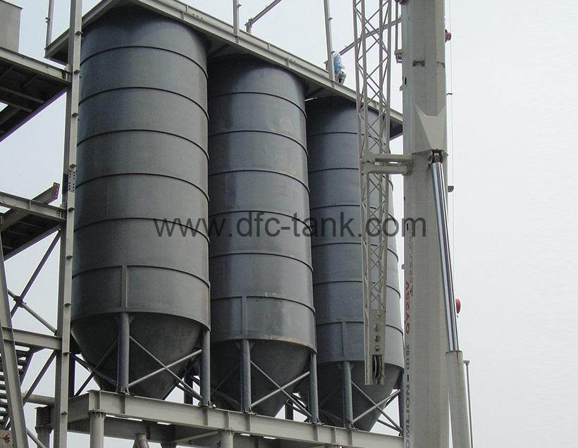 4. Vertical Type Cement mortar tank for construction industry