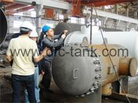 Welding requirement for pressure vessels