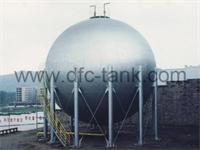 Main items about appearance and collection size of storage tank shell and head