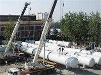 What are the methods of ultrasonic testing in surge tank nondestructive testing?