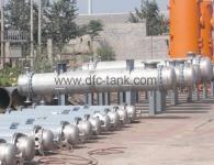 The work principle of tube-sheet heat exchanger