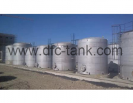 Stainless steel storage tank features